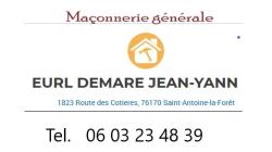 EURL DEMARE Jean-Yann